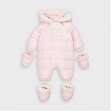 Mayoral Baby Girls Snowsuit - Pink
