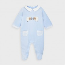 Mayoral Baby Boys Valour Onesie - Pale Blue