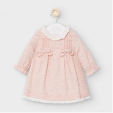 Mayoral Baby Girls Plumeti Dress - Pink