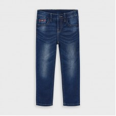 Mayoral Kids Boys Slim Fit Jean - Dark Denim
