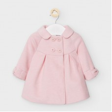 Mayoral Baby Girls Coat - Pink