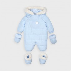 Mayoral Baby Boys Snow Suite - Pale Blue