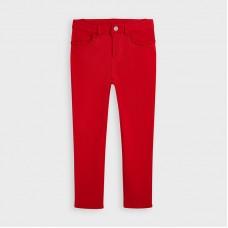 Mayoral Kids Girls Skinny Trouser - Red