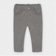 Mayoral Infant Girls Classic Trouser - Grey