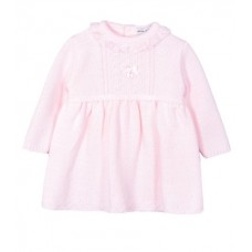 Jacob Matthews Girls Knitted Dress - Pink