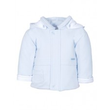 Jacob Matthews Boys Coat - Blue