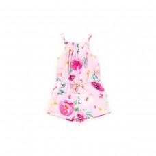 Fun & Fun Kids Girls Floral Playsuit - Pink