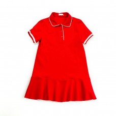 Fun & Fun Junior Girls Jersey Dress - Red