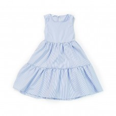 Fun & Fun Junior Girls Summer Dress - Sky