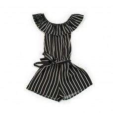 Fun & Fun Junior Girls Playsuit - Black