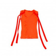 Fun & Fun Junior Girls Vest Top - Orange