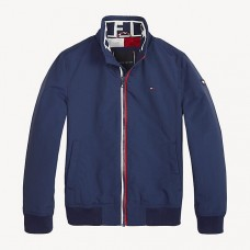 Tommy Hilfiger Boys Bomber Jacket - Navy