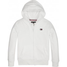 Tommy Hilfiger Boys Hooded Top - White