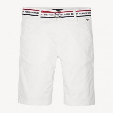 Tommy Hilfiger Boys Chino Shorts - White