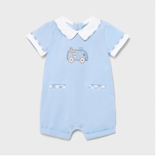Mayoral Baby Boys Romper - Pale Blue