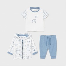 Mayoral Baby Boys 3 Piece Set - Pale Blue