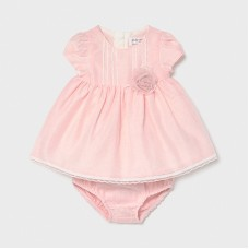 Mayoral Baby Girls 2 Piece Dress Set - Pink