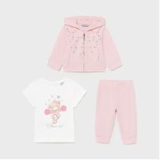 Mayoral Infant Girls 3 Piece Set - Pink