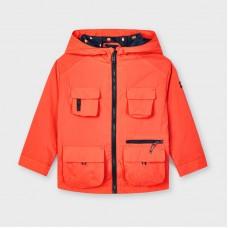 Mayoral Kids Boys Windbreaker Jacket - Apricot