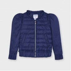 Mayoral Kids Girls Windbreaker Jacket - Navy