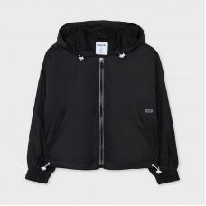 Mayoral Junior Girls Windbreaker Jacket - Black
