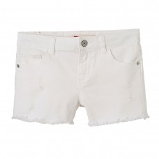 Levi's Girls Denim Shorts - White