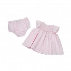 Fun & Fun Infant Girls Dress Set - Pink