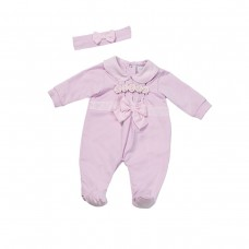 Fun & Fun Infant Girls Babygrow and Headband - Pink