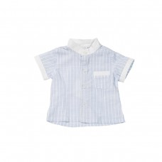 Fun & Fun Infant Boys Grandad Shirt - Sky