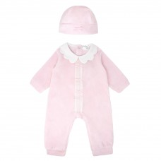 Pastels & Co Girls All In One With Hat - Pink
