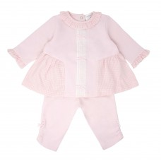 Pastels & Co Girls 2 Piece Trouser Set - Pink