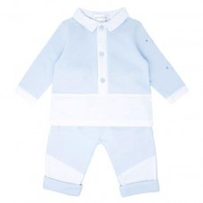 Pastels & Co Boys 2 Piece Set - Pale Blue