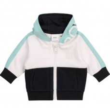 Hugo Boss Infant Boys Zip Jumper - White