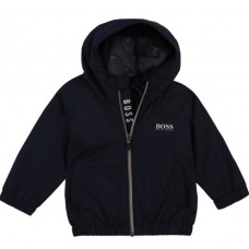 Hugo Boss Infant Boys Hooded Jacket - Navy