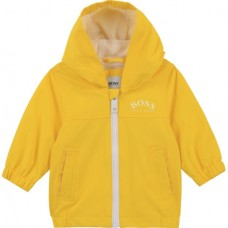 Hugo Boss Infant Boys Windbreaker Jacket - Yellow