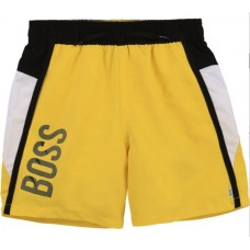 Hugo Boss Boys Swim Shorts - Yellow