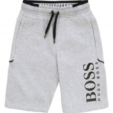 Hugo Boss Boys Bermuda Short - Grey
