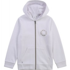 Hugo Boss Boys Zip Track Top - White