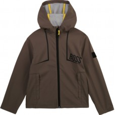 Hugo Boss Boys Softshell Jacket - Kaki