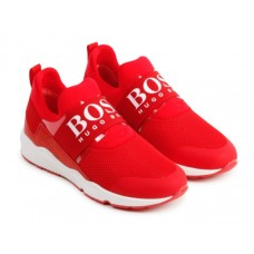 Hugo Boss Footwear Slip On Trainer - Red