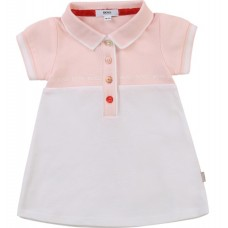 Hugo Boss Infant Girls Dress - Pale Pink