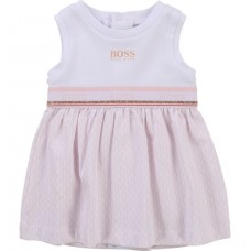 Hugo Boss Infant Girls Dress - White