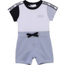 Hugo Boss Infant Boys All In One - Pale Blue