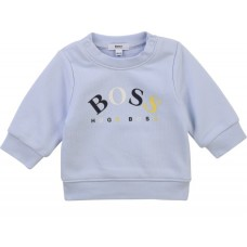 Hugo Boss Infant Boys Sweatshirt - Pale Blue