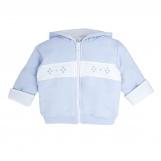 Pastels & Co Boys Jacket & Mitts - Pale Blue