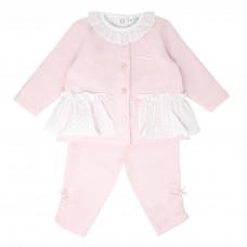Pastels & Co Girls 2 Piece Set - Pink