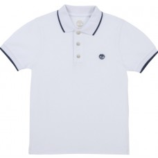 Timberland Short Sleeve Polo - White