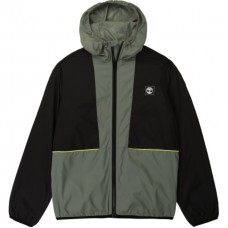 Timberland Hooded Windbreaker Jacket - Green