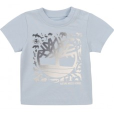 Timberland Baby Short Sleeve T-Shirt - Pale Blue