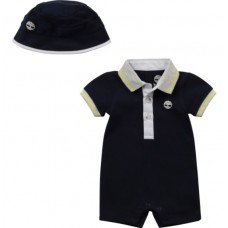 Timberland Baby All In One With Hat - Navy